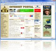 Internet Portal - Startseite